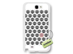Popular Movie Captain America S.H.I.E.L.D Pattern Frosted Phone Case & Cover for Samsung Galaxy Note 2