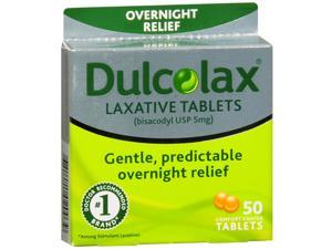 Dulcolax Overnight Relief Laxative Tablets 100 ea