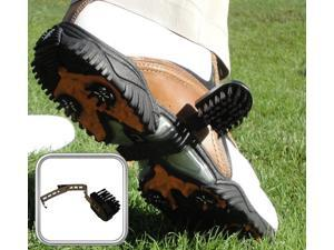 Swing-N-Clean Shoe Attachement Golf Brush Training Aid