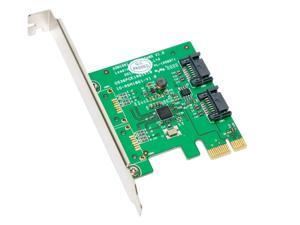 SYBA SY-PEX40039 PCI-Express 2.0 SATA III (6.0Gb/s) Controller Card