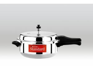 Butterfly Standard Plus Aluminum Senior Pan Pressure Cooker, 5.5-Liter