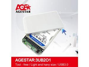 Agestar SATA to USB3.0 Mini & Portable HDD Enclosure