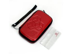 Protective Case Bag Travel Carry Pouch with Strap for Nintendo 3DS - Red