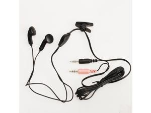 3.5mm Headset Headphone Microphone for PC Computer Skype MSN