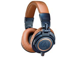 Audio-Technica ATH-M50x Sound-Isolating Monitor Headphones (Blue)