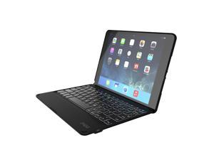 ZAGG Folio Case Hinged with Backlit Bluetooth Keyboard for iPad Air 2 - Black (ID6ZFK-BB0)