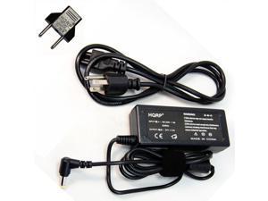 HQRP AC Power Adapter for Black & Decker Pivot Vac 18V Cordless Pivoting Hand Vac PHV1810 PHV1210 90556141 plus HQRP Euro ...