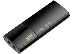 Silicon Power Blaze B05 8GB (10 Pack) Retractable USB 3.0 Flash Drive Black
