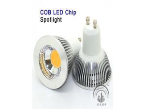 Shine Glory Lighting 10pcs per lot GU10 COB LED Chip 3W/  5W Warm White/ Daylight LED Spot Light Bulbs Led lamp