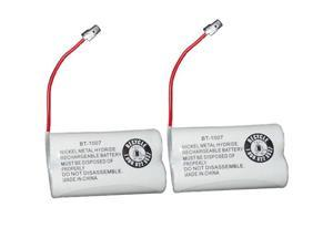 Battery for Uniden BT1007 (2-Pack) BT1007 /  BT-1015 / GEJ-TL26602 Replacement Battery