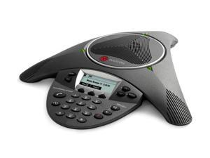 Polycom 2200-15660-001 SoundStation IP 6000 3-Way Conferencing  Phone w/ AC