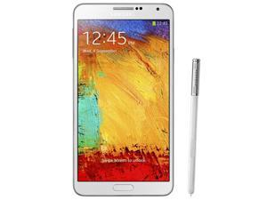Samsung Galaxy Note 3 White / SM-N900 (1 Year Warranty) Unlocked GSM Mobile Phone