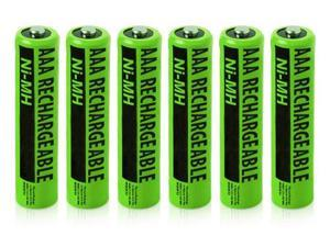 Clarity NiMH AAA Batteries (6-Pack) NiMh AAA Batteries 4-Pack