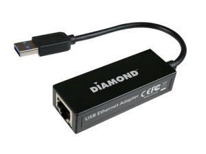 Diamond Multimedia UE3000b Diamond Multimedia USB 3.0 to 10/100/1000 Gigabit Ethernet LAN Network Adapter (UE3000)