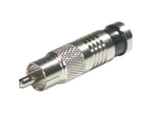 C2G 41121 C2G RG6 Compression RCA Connector - 50pk - RCA