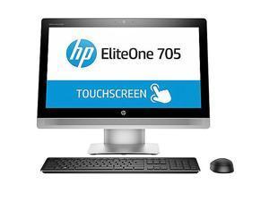 "HP All-in-One Computer P5U97UT#ABA A8-Series APU 3.2 GHz 4 GB DDR3 500 GB HDD 23"" Windows 10 Pro 64-Bit"