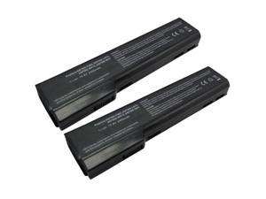 Replacement Battery 4400mAh for Hewlett Packard Elitebook Series / 8460P / 8470P / 8560P / 8570P Laptop Models (2-Pack)