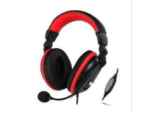 Folding Stereo 3.5mm Headset Game Wire Headphones Earphone with Microphone Line for PC Computer Laptop