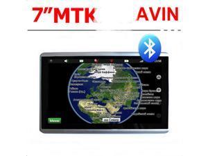 7 inch MTK GPS Navigator, Bluetooth, AVIN, the built-in 4G