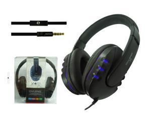 3.5mm stereo Headphone Earphone Gaming Headset with Microphone-heilan