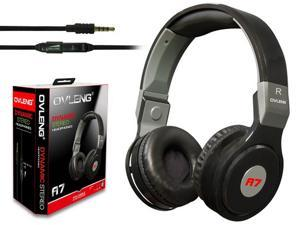 stereo Headphone Earphone Gaming Headset with Microphone black