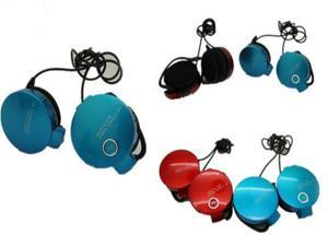 Headsets Speaker On Ear 3.5mm Plug With MIC Volume Control Cable Factory Sealed Package Refly