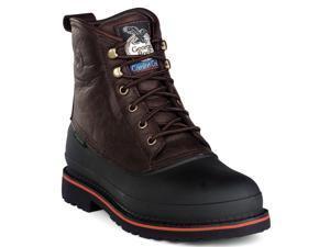 """Georgia Men's Muddog 6"""" Waterproof Steel Toe Work Boot 10 M"""