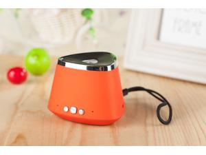 Hot Sale!!Orange Portable Rechargeable Wireless Bluetooth Speaker With TF card Audio player