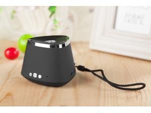 Hot Sale!!Black Portable Rechargeable Wireless Bluetooth Speaker With TF card Audio player