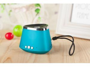 Hot Sale!!Blue Portable Rechargeable Wireless Bluetooth Speaker With TF card Audio player