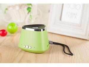 Hot Sale!!Green Portable Rechargeable Wireless Bluetooth Speaker With TF card Audio player