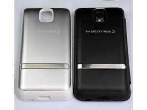High Capacity White 4200mah Aluminium Power Bank External Backup Battery Charger Case for GALAXY Note 3