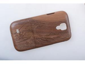 For Samsung Galaxy S4 i9500,2014 New Arrival SAPELE Wave Pattern Protective Phone Back Case Cover