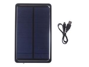 Solar Portable Power Bank Pack 4000mAh Black External Battery Charger For Apple iPhone 4 4s 5 5s Samsung HTC Nokia PSP Mp3/mp4