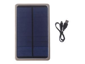 Solar Portable Power Bank Pack 4000mAh Gold External Battery Charger For Apple iPhone 4 4s 5 5s Samsung HTC Nokia PSP Mp3//mp4