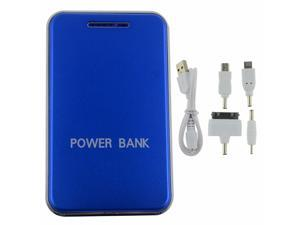 New Blue 48000mah LED Light power bank With universal Dual USB Outputs External Backup Battery charger