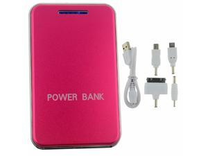 New Hot Pink 48000mah LED Light power bank With universal Dual USB Outputs External Backup Battery charger