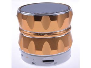 Gold Wireless Mini Portable Bluetooth Speaker S14 Outdoor Subwoofer Stereo