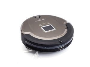 Amtidy Multifunctional Wireless Remote A320 Robot Vacuum Cleaner - Champaign Gold