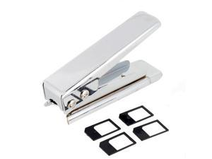 Micro SIM Cutter and 4 SIM Adapter for iPhone 4G/iPad