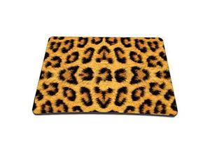 Leopard Print Rubber Gaming Mouse Pad (9 x 7 Inches)