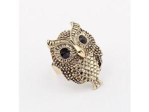 Vintage Cute Alloy Owl Pattern Ring