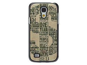 USD Symbol Pattern Aluminum Hard Case for Samsung Galaxy S4 mini I9190