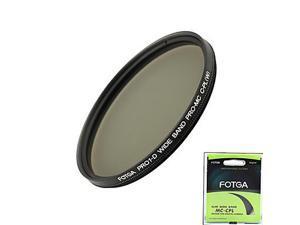 Fotga Pro1-D 55Mm Ultra Slim Mc Multi-Coated Cpl Circular Polarizing Lens Filter