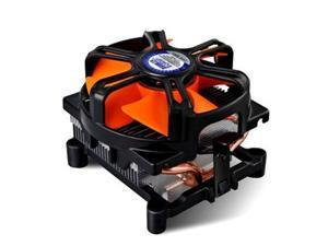 2 Heat Copper Pipes Computer PC CPU Heatsink Cooler Fan for Intel LGA 1156/775 AMD AM2/754/939/940