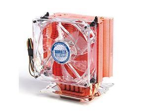 3 Heat Copper Pipes 4 Pin PC CPU Heatsink Cooler Fan for Intel 775/1155/1156 AMD 754