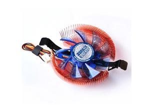 Slim CPU Cooler Copper Heatsink Fan for AMD 754/AM2/AM3 Intel LGA775/1155/1156