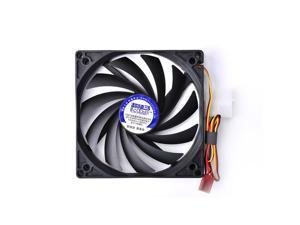 100mm Ultra Silent Computer PC Case Cooling Fan Exhaust CPU Fan Cooler