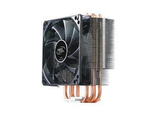 4 Heatpipes Blue LED 4Pin PWM Heatsink CPU Cooler Fan for Intel LGA2011