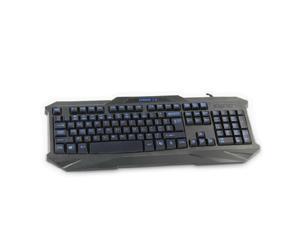 Black Stylish Multimedia USB Wired Gaming Keyboard